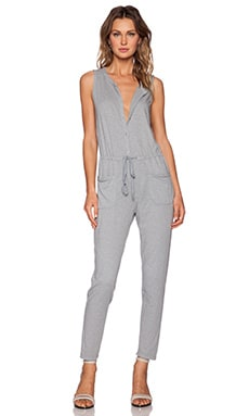 Velvet by Graham & Spencer Cotton Slub Prue Jumpsuit in Equinox