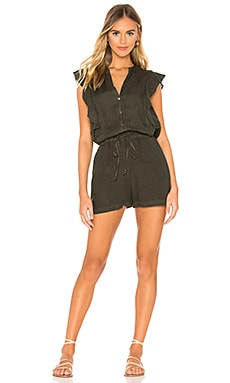 Francis Romper Velvet by Graham & Spencer $70