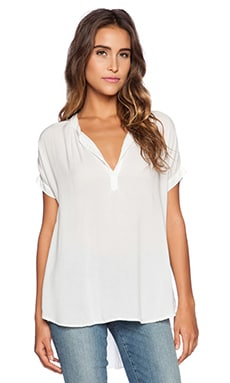Challis Shirts Chazmin Top in White