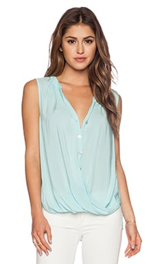 Velvet by Graham & Spencer Rayon Challis Rani Tank in Cavalry