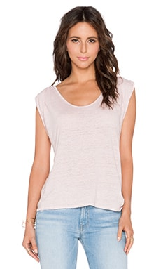Velvet by Graham & Spencer Malana Linen Knit Tank in Beauty