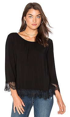 Schanelle Top in Black