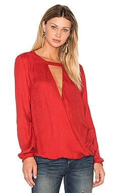 Mylinh Blouse in Rouge