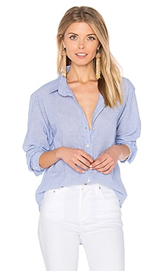 Claire Button Up in Blue