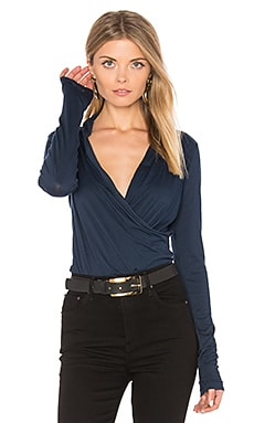 Meri Cross Front Top in Midnight