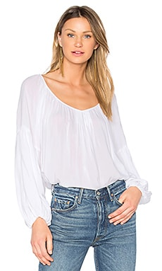 Zadie Blouse in White