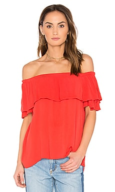 Luvenia Off Shoulder Top in Rio