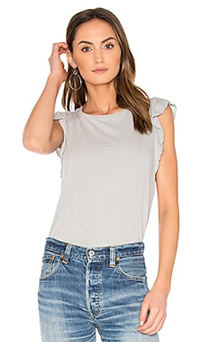 Marylou Slub Tee in Moonlight