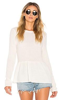 Купить Сеточная блуза hadlee - Velvet by Graham & Spencer цвет ivory