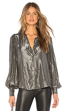 Dakota Blouse Velvet by Graham & Spencer $53