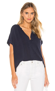Kristin Blouse Velvet by Graham & Spencer $108