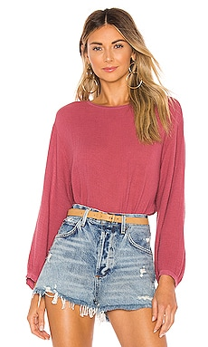 Eva Gauze Blouse Velvet by Graham & Spencer $66