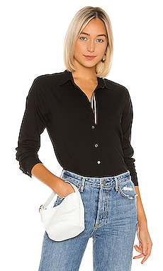 Nina Button Down Velvet by Graham & Spencer $41 (FINAL SALE)