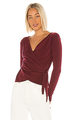 Janessa Wrap Top Velvet by Graham & Spencer $44 (FINAL SALE)