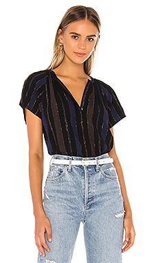 TOP A RAYAS TABATHA Velvet by Graham & Spencer $147