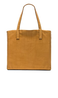 Velvet by Graham & Spencer Clover Leather Tote in Tan