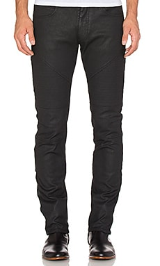 VERSACE Moto Denim in Black