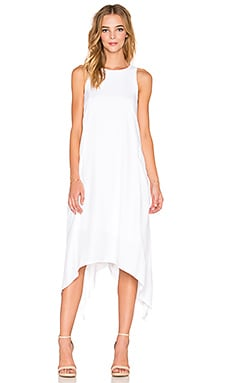 Viktoria + Woods Pegasus Asymmetric Dress in White