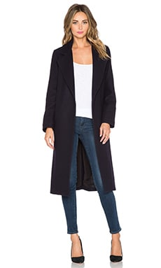 Viktoria + Woods Valentina Coat in Oxford Blue