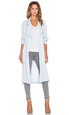 Viktoria + Woods Hellenic Trench in Ice Blue