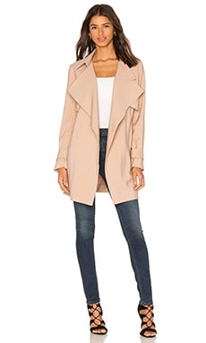 Viktoria + Woods Solitude Short Trench Coat in Camel
