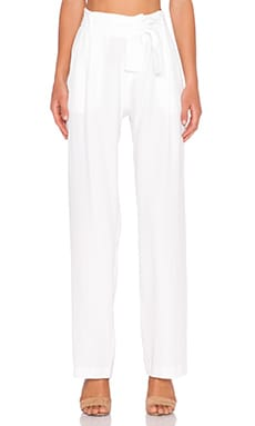 Viktoria + Woods Omari Wide Leg Pant in White