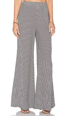 Ambition Flare Pant in Icon Stripe
