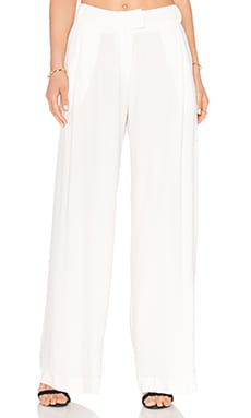 Viktoria + Woods Mega Wide Leg Pant in White