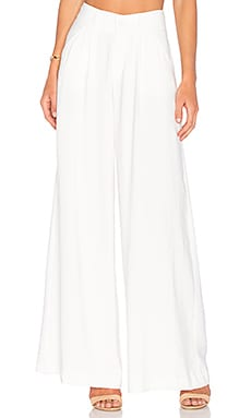 Viktoria + Woods Mixer Wide Leg Pant in Ivory