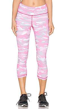 Vimmia Breast Cancer Awareness Legging in Pink Camo