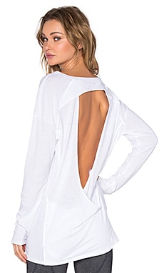 Vimmia Pacific Open Back Tee in White
