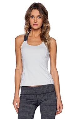 Vimmia Grace Tank in Silver & Heather Charcoal