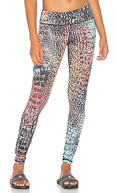 Abstract Core Legging