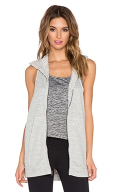 Vimmia Relax Zip Tunic in Heather Grey