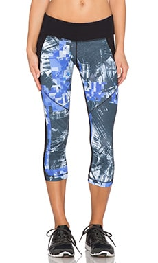 Vimmia Printed Victory Capri in Analog & Black