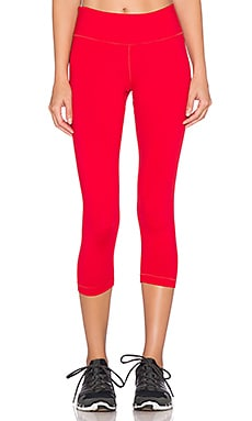 Vimmia Core Capri Pant in Ruby