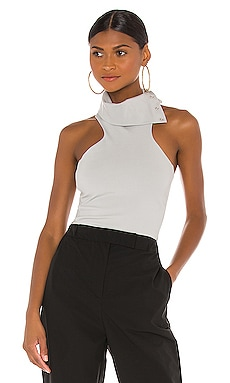 Snap Turtleneck T Back Top Vimmia $90