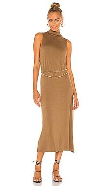 Sleeveless Mock Neck Dress Vince $225