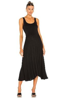 Full Skirt Square Neck Dress Vince $245