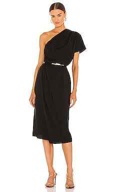 One Shoulder Cascade Drape Dress Vince $375