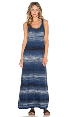 Vince Spacedye Maxi Dress in Coastal Combo