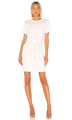 Short Sleeve Waist Tie Dress Vince $195
