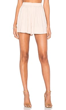 Pull On Shorts in Rose Water