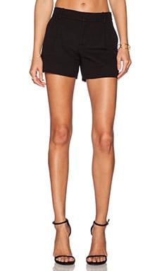 Vince Ottoman Short in Black
