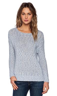 Vince Drop Shoulder Sweater in Blue Haze