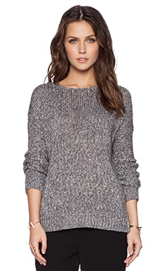 Vince Drop Shoulder Sweater in Coastal