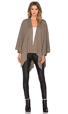 Vince Luxe Poncho in Toast