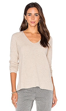 Vince Vee Pullover in Light Heather Marzipan