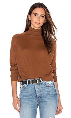 Turtleneck Sweater in Cinnamon Stick