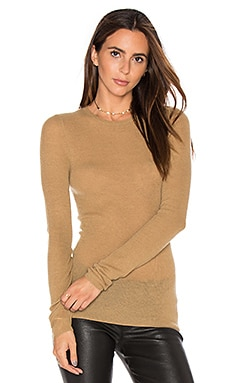 Ribbed Sweater in Kamel